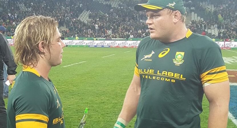 Bok captain Strauss under fire – but he might survive.