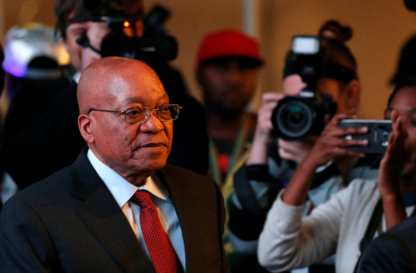 South Africa's President Jacob Zuma. REUTERS/Siphiwe Sibeko