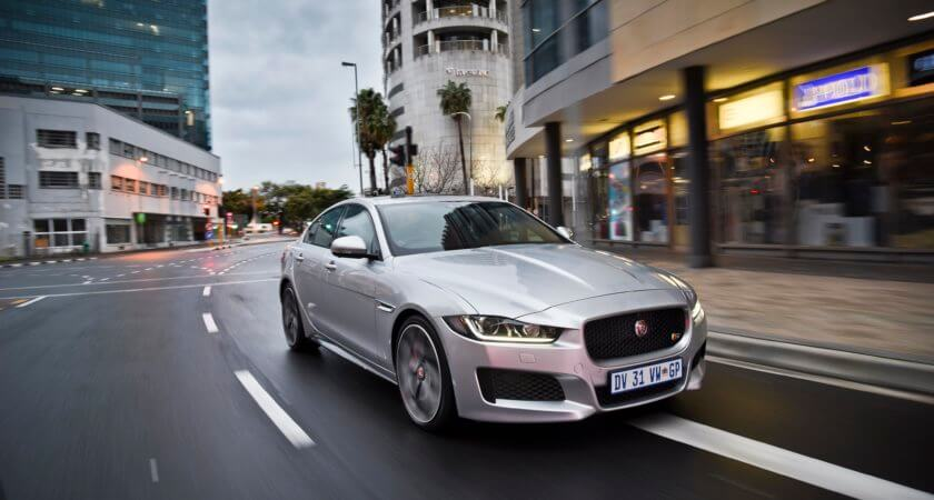 Jaguar XE: Taking on the Germans with an arm behind its back
