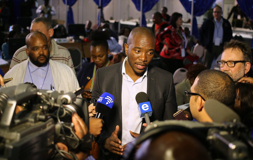 Democratic Alliance leader Mmusi Maimane. REUTERS/Siphiwe Sibeko