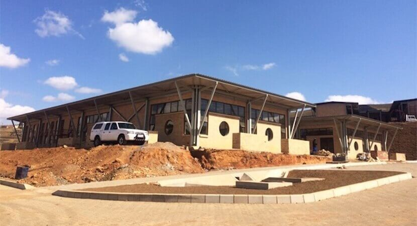 Nkandla's new architectural showpiece takes shape – this time for the people
