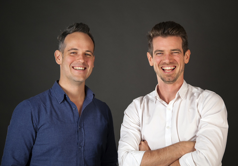Sam (L) and Rob (R) Paddock, founders of edutech group GetSmarter.co.za