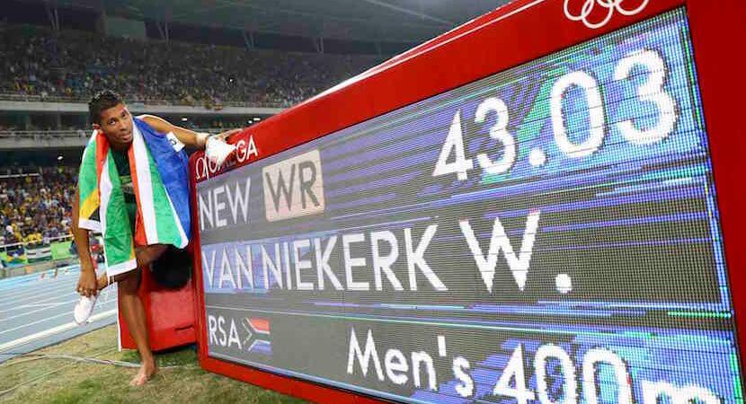 SA's golden boy – Wayde Van Niekerk breaks Michael Johnson's 400m world record