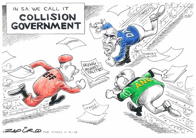 In Zapiro's eyes more of a collision government. More magic available at www.zapiro.com.