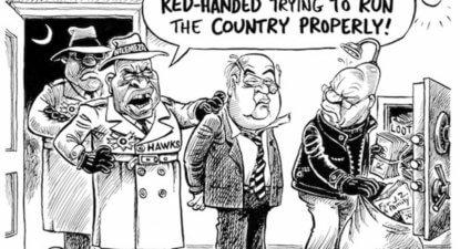 Zuma tells SACP members: Pravin Gordhan is toast. I'll be firing him soon.