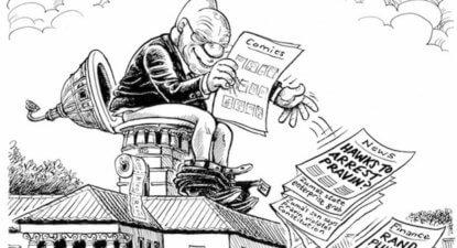 #Zumicon: Zuma's Rubicon – Please let next No Confidence vote be secret.