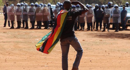 Mugabe raises 'Africa Spring' stakes – 'won't tolerate protests anymore'