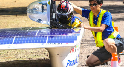 Sasol Solar Challenge: record breaking day for SAns and Dutch