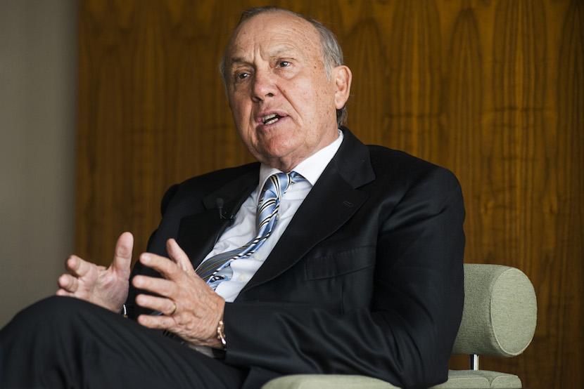 Christo Wiese, billionaire and chairman of Steinhoff Holdings NV. Photographer: Waldo Swiegers/Bloomberg