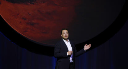 WATCH: Elon Musk on what awaits his human pioneers restarting Life on Mars.