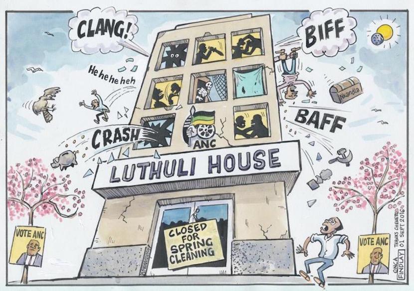 Cartoon courtesy of Twitter
