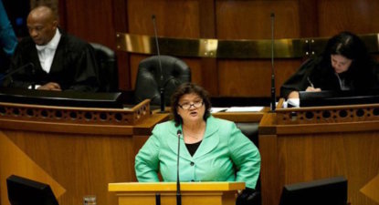 Battleground Parliament: Lynne Brown washes hands of Molefe's Second Coming