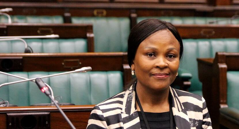 Public Protector's SARB endgame = Venezuela. Like a fish out of water.