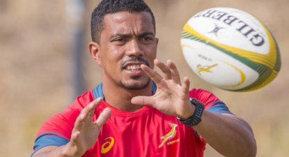 New Springbok half-back pairing as Paige and Steyn get a call-up to starting XV