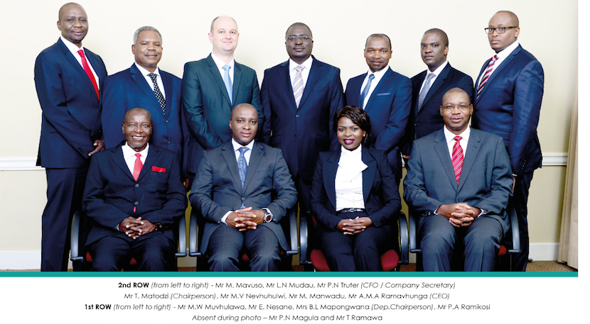 VBS Mutual Bank board of directors. Picture: Twitter