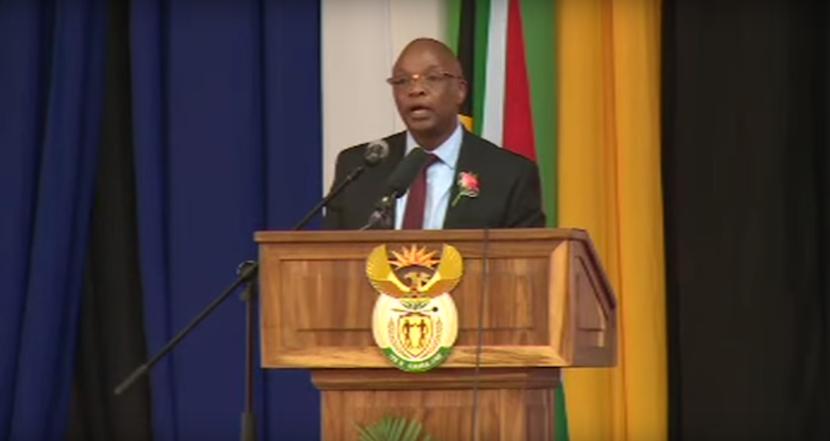WATCH: Anglogold chairman Sipho Pityana skewers Zuma as ANC bigwigs look on