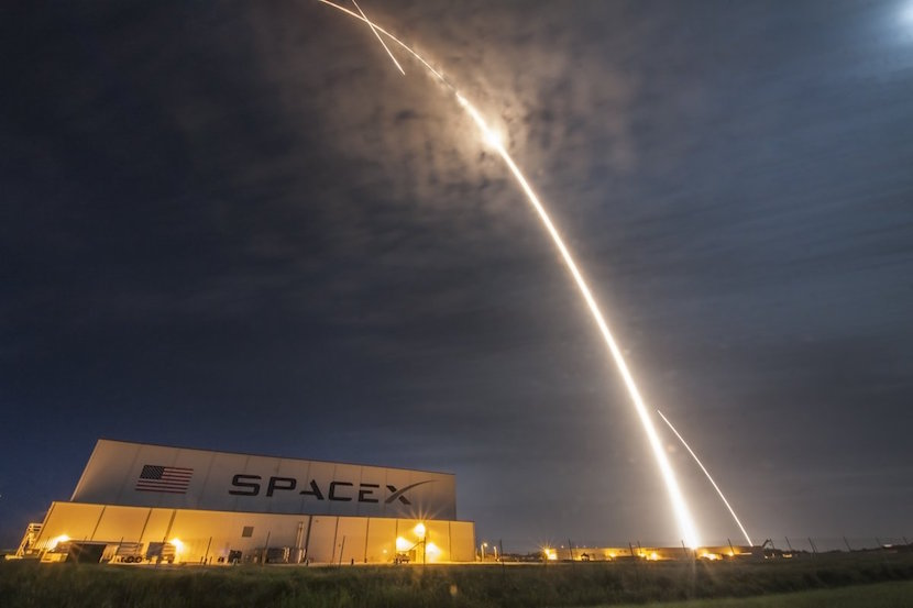Another giant leap as Musk's SpaceX gets set for lift-off – The Wall Street Journal - BizNews
