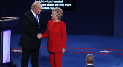 The Big Debate – 'Clinton lacks stamina' but 'Trump dubs women pigs'