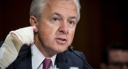 Two Warrens hold keys to Wells Fargo future as account scam scandal grows.