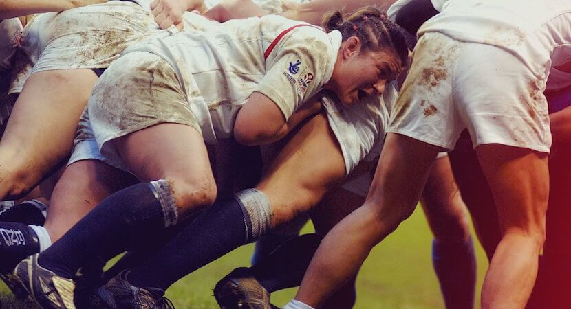 Why women's rugby is growing in leaps, bounds, scrums, & kicks