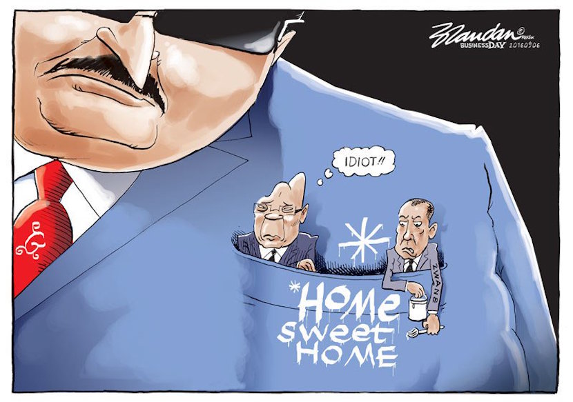 Cartoon courtesy of Twitter @brandanrey