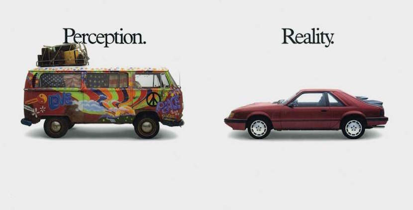 Perception VS Reality. Why there's no real winner.