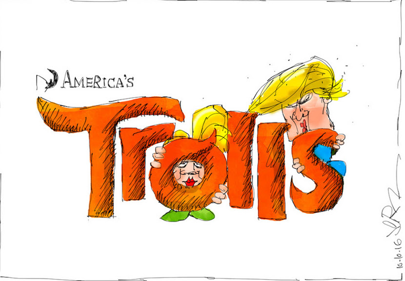 America's presidential candidates feature in Dreamworks' latest film, Trolls. More magic at www.jerm.co.za.