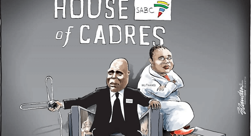 Ed Herbst: SABC's three-ring circus. Faith's torrid time in Makhado.