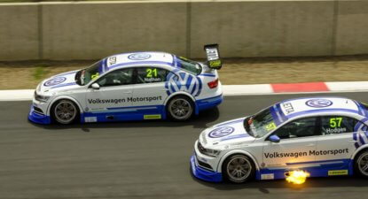Thrills and spills aplenty at Kyalami Festival of Motorsport