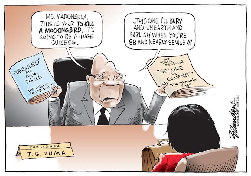 Cartoon courtesy of Twitter @brandanrey