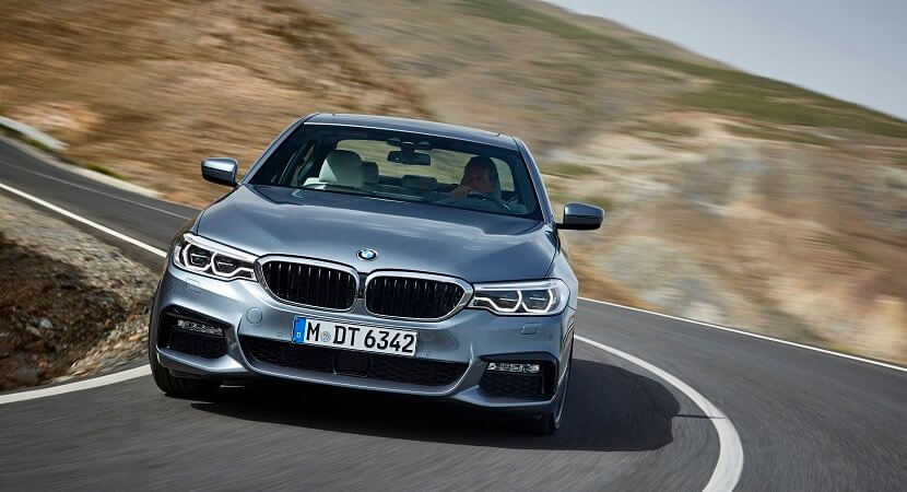 All new BMW 5 Series, now with steering assist up to 210km/h