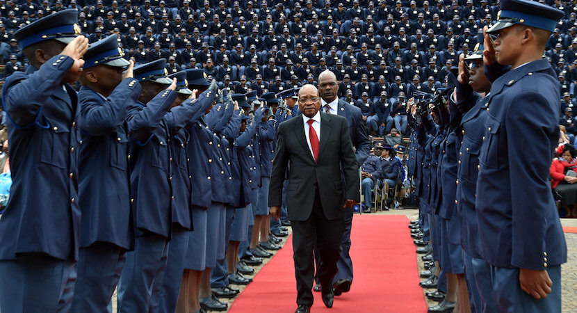 Fresh crime scandal hits SA police force, as top cop investigated in own Nkandla deal
