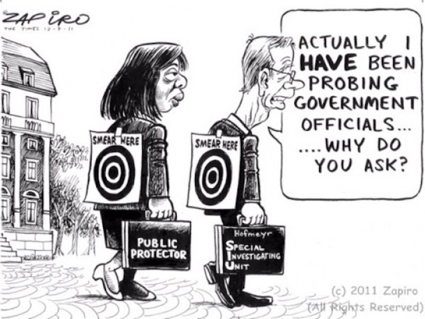 One of Zapiro's classics. More can be found www.zapiro.com.