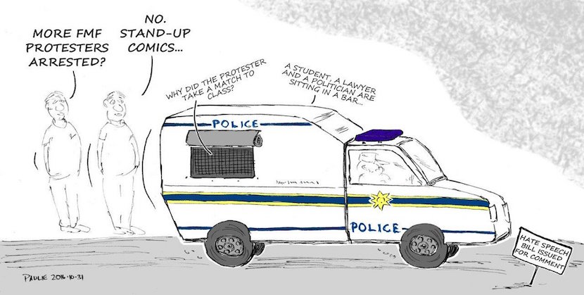 Brilliant: The Hate Speech Bill explained in cartoons. Preventing crimes against #1.