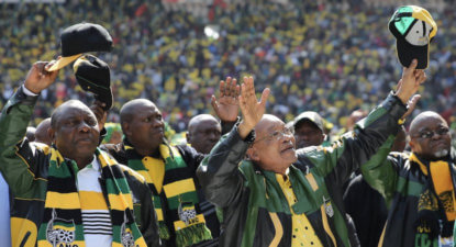 Warning: ANC 'unity' means more corruption for SA. #ANCLeadershipRace