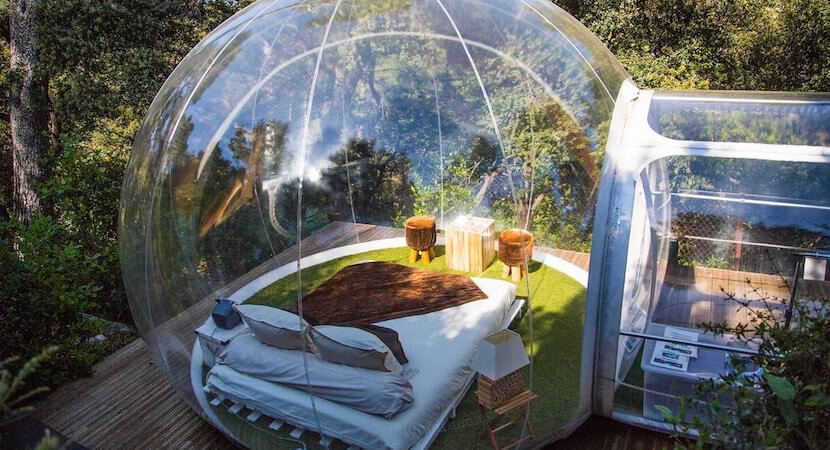 Star gazing: Camping gets Bubble Tent upgrade