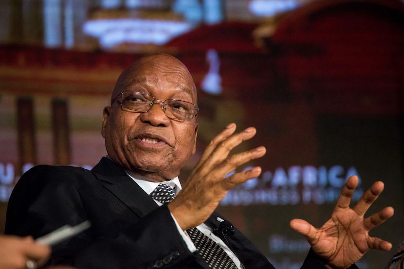 South African president Jacob Zuma. Photographer: Michael Nagle/Bloomberg