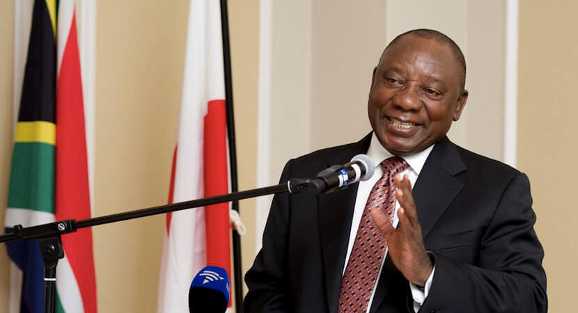 Cosatu backing Ramaphosa; battle for presidential succession warms up