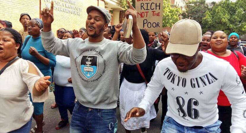 #FeesMustFall: UCT student activist could get 15 years for robbery