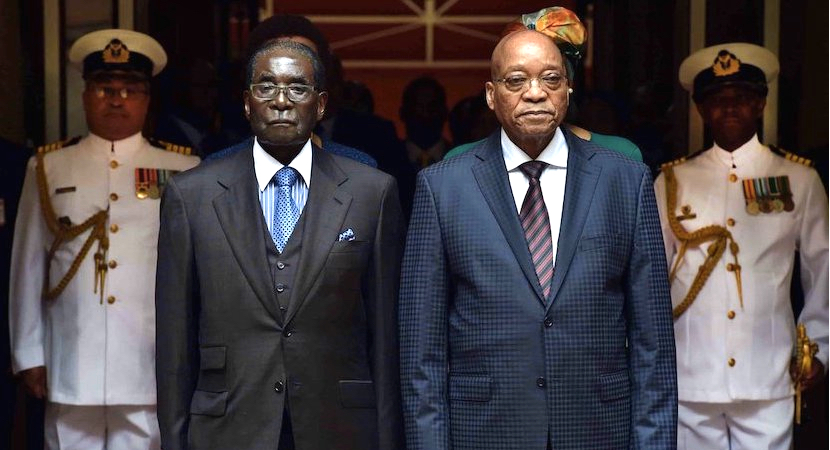 Spot the difference: Zuma vs Mugabe. Too late to learn lessons from Zimbabwe?