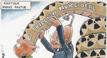 Nuclear judgement an epic defeat for the Zuptoids. Hope springs for SA.