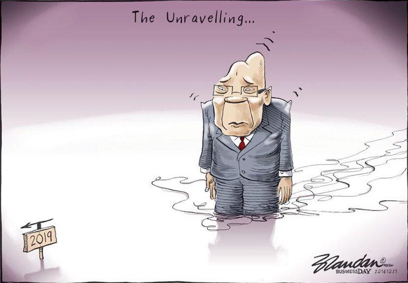Cartoon published courtesy of Tiwtter @brandanrey