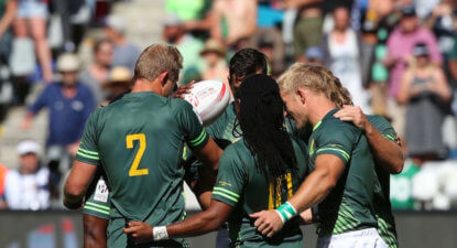 Third place for disappointing Blitzboks at Cape Town Sevens