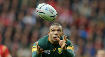 """I'm not calling it quits on my international career"" says Bryan Habana"