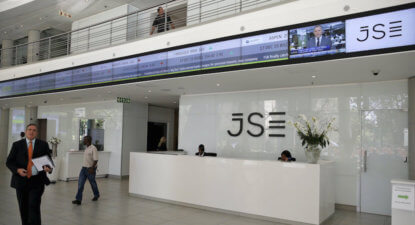 JSE's share price is up 25% in the past year. Someone is not paying attention.