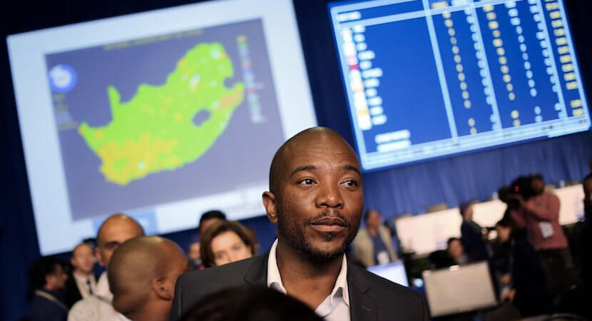 Maimane: Zwane's Mining Charter has Zuptoid fingerprints all over it