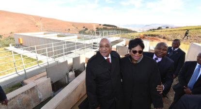 SA's chief water guardian chooses who drinks from her cup