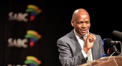 Hlaudi's marathon press conference: Praise singers and a parallel universe