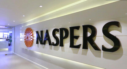 Naspers's hefty shock absorber: each $1 in value now on offer at under 60c