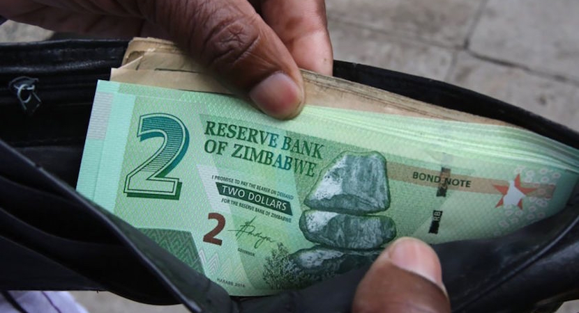 Zimbabwe, currency
